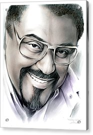 Rosey Grier Acrylic Print