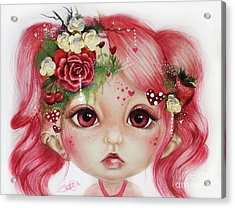 Rosie Valentine - Munchkinz Collection  Acrylic Print by Sheena Pike