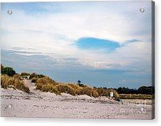Rosignano Beach Acrylic Print
