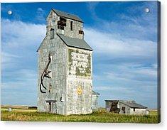 Ross Fork Grain Elevator Acrylic Print by Todd Klassy