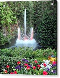 Ross Fountain Acrylic Print