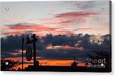 Rossington Sunset Acrylic Print