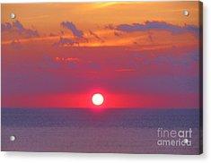 Rosy Sunrise Acrylic Print