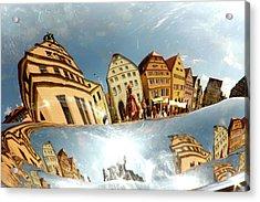 Acrylic Print featuring the photograph Rotenburg In A Tuba by KG Thienemann