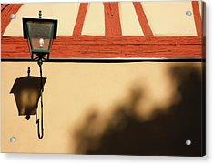 Acrylic Print featuring the photograph Rotenburg Lantern by KG Thienemann