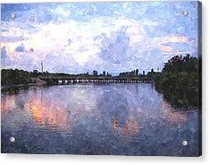 Rotonda River Roriwc Acrylic Print