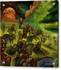 Rotten Souls Taint The Land Acrylic Print