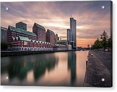 Rotterdam Spoorweghaven Acrylic Print