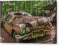 Rotting Classic In Color Acrylic Print