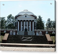 Rotunda   University Of  Virginia Acrylic Print