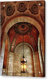 Acrylic Print featuring the photograph Rotunda Ceiling by Jessica Jenney
