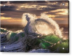 Rough Sea 23 Acrylic Print