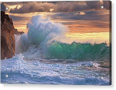 Rough Sea 9 Acrylic Print