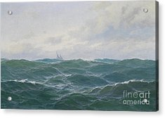 Rough Seascape Acrylic Print by Celestial Images