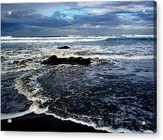 Rough Waters Acrylic Print by Trisha Allard