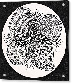 Round And Round Acrylic Print