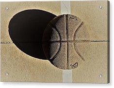 Round Ball And Shadow Acrylic Print