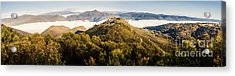 Round Mountain Lookout Acrylic Print