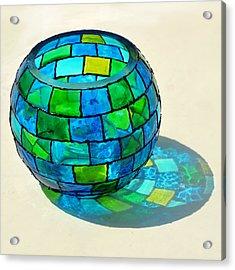 Round N Round Acrylic Print by Farah Faizal