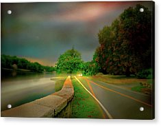 Acrylic Print featuring the photograph Round The Bend by Diana Angstadt