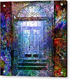 Rounded Doors Acrylic Print by Barbara Berney