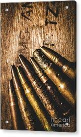 Rounds Of Historic Battle Acrylic Print