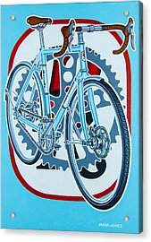 Rourke Bicycle Acrylic Print