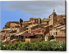 Rousillon Acrylic Print by Stan and Anne Foster
