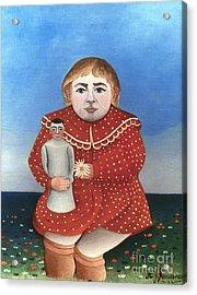 Rousseau: Child/doll, C1906 Acrylic Print by Granger