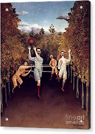 Rousseau: Football, 1908 Acrylic Print by Granger