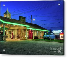 Route 66 Best Western Acrylic Print
