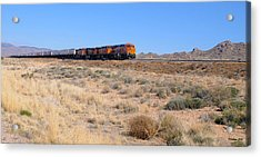 Route 66 Freight Train Acrylic Print