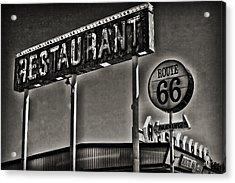 Route 66 Restaurant Acrylic Print