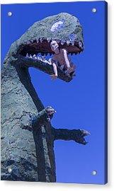 Route 66 Roadside Dinosaur Acrylic Print