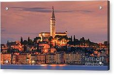 Rovinj Is A City On The Istrian Peninsula, Croatia Acrylic Print
