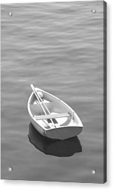 Row Boat Acrylic Print by Mike McGlothlen
