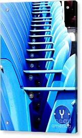 Row Of Stadium Seats Acrylic Print by Nishanth Gopinathan