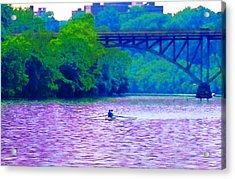 Row Row Row Your Boat Acrylic Print by Bill Cannon