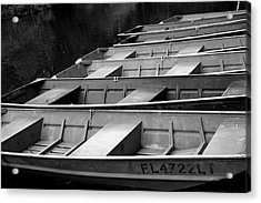 Row Your Boat Acrylic Print