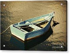 Rowboat At Twilight Acrylic Print