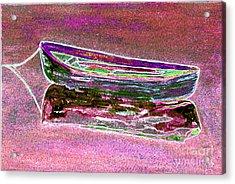 Rowboat Fluorescence 4 Acrylic Print