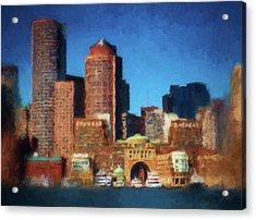 Rowes Wharf Boston Acrylic Print