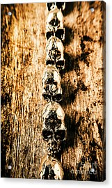 Rowing Sculls Acrylic Print