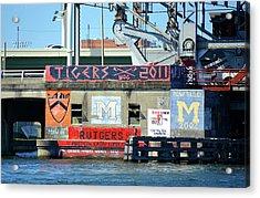 Rowing Team Art Tampa Florida Acrylic Print