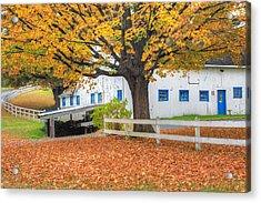 Roxbury Connecticut Barn Acrylic Print