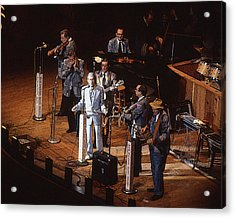 Roy Acuff At The Grand Ole Opry Acrylic Print by Jim Mathis