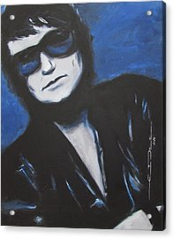 Roy Orbison In Beautiful Dreams - Forever Acrylic Print by Eric Dee