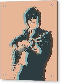 Roy Orbison Pop Acrylic Print