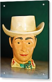 Roy Rogers Cup Acrylic Print
