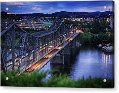 Royal Alexandra Interprovincial Bridge Acrylic Print